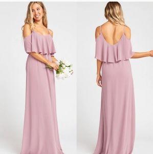 NEW Show Me Your Mumu Caitlin Ruffle Maxi Dress XL